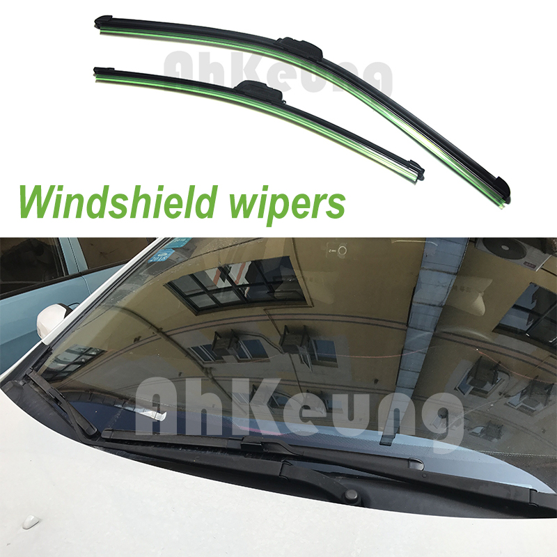 for <font><b>Buick</b></font> <font><b>Rendezvous</b></font> 2002~<font><b>2007</b></font> Car Windscreen Wiper Frameless U J Hook Soft Rubber All Weather Suitable Windshield Bracketless