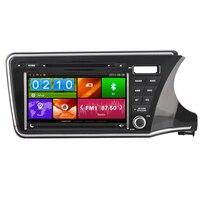 8 inch Car DVD Player GPS Navigation For Honda City 2014 2015 Mirror Link 3G WiFi Radio Map USB SD OBD2 DVR Bluetooth Ipod RDS