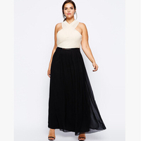6XL Plus Size Women Vestidos Long Dresses Big Large Size Sexy Lady Sleeveless Dress 5XL 4XL