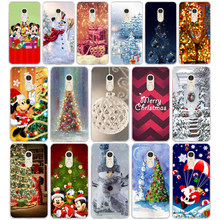 Happy New Year Merry Christmas Snowman Santa Claus For Xiaomi redmi note 4 4x Case Fundas redmi note 4x Cover Soft Silicone TPU(China)