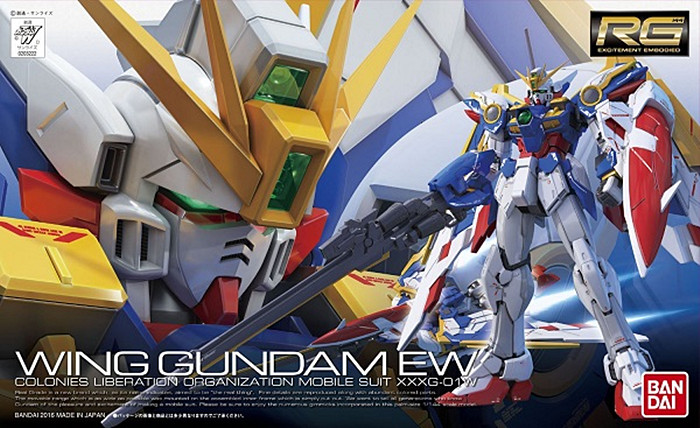 1 PCS Bandai RG 20 1/144 XXXG-01W Wing Gundam EW Mobile Suit Assembly Model Kits Education toys model building kits bandai hguc 178 1 144 rx 0 full armor unicorn gundam destroy mode mobile suit assembly model kits