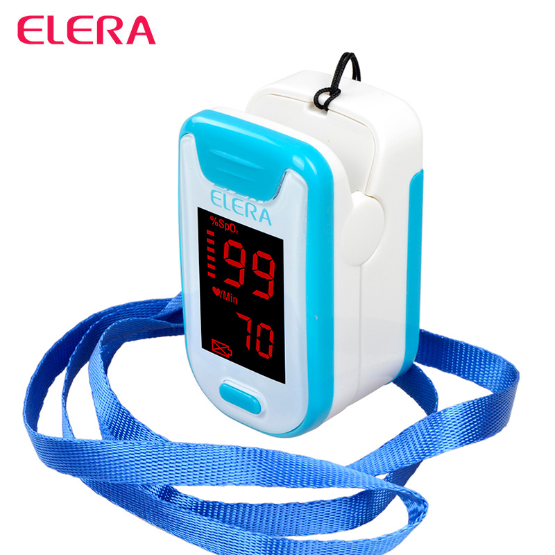 elera 10pcs  lot new finger pulse oximeter health care ce