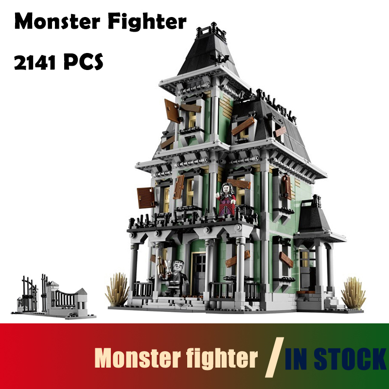 Compatible with lego Model Building Blocks toys 16007 2141Pcs Monster fighter Movies Series 10228 Educational DIY toys hobbies 2015 high quality spaceship building blocks compatible with lego star war ship fighter scale model bricks toys christmas gift