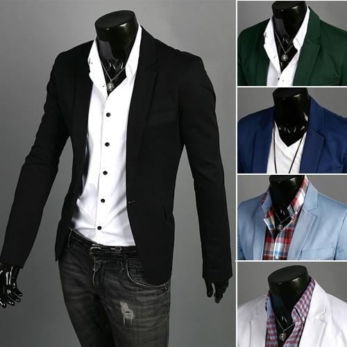 Wild Single Button terno suit Jacket Blazers  2