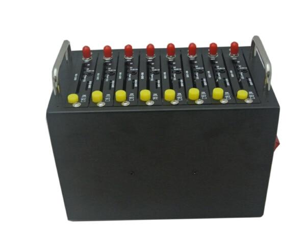 High quality 3g wcdma 8 port modem pool support 1200-1500 sms sending per com port
