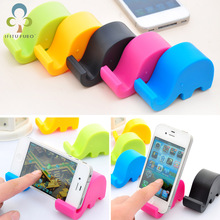 Desk-Mount-Stand Phone-Holder Table Elephant Mini Cute Pp for Cell LYQ 2pcs/Lot Universal