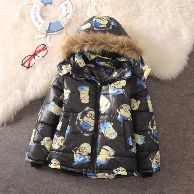 560e272ca239 Online Shop Despicable Me Jacket Kids Jacket For Boy Baby Minion ...