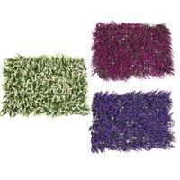 63 44cm DIY Artificial Plastic Wild Grass Turf Colorful Plants Lawn For Hotel Garden Supermarket Shop