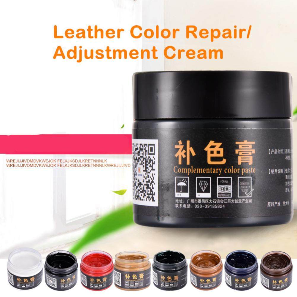 LuDuo Vinyl Liquid Leather Repair Kit Glue Paste Car Seat Skin Repair  Clothing Shoes Boot Fix Crack Paint Care with 10pcs Patch
