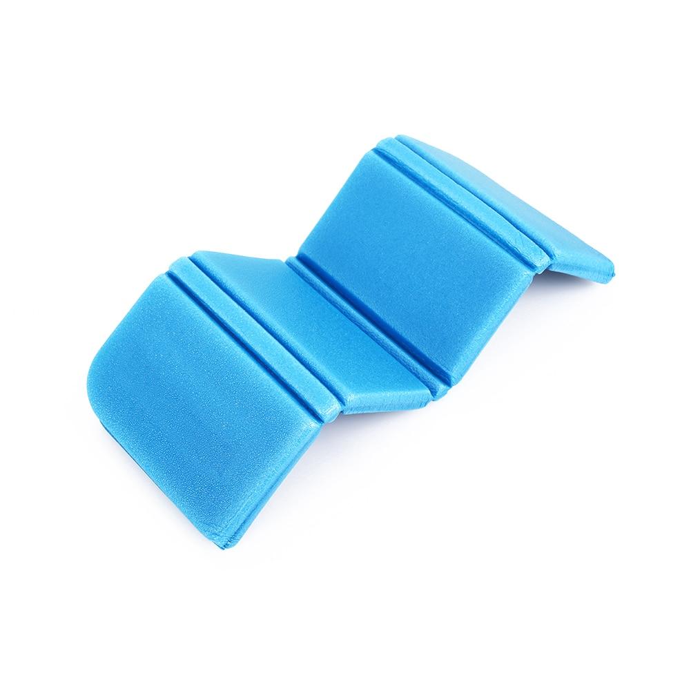 8 цветов коврик для отдыха на природе Мягкий складной походный коврик для пикника Рыбалка на открытом воздухе 275 мм влагостойкая Сидящая Подушка пляжный парк - Цвет: blue