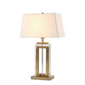 Post modern table light bedroo