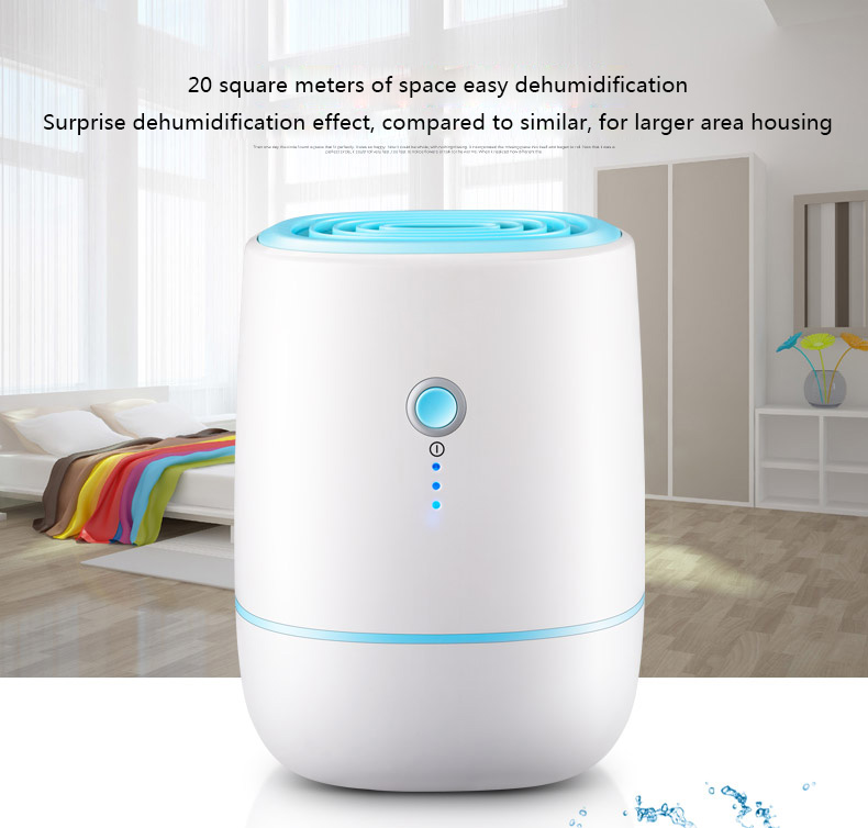 ITAS2219 Mute Household Basement Dehumidifier Dry Moisture Removing Machine Mini