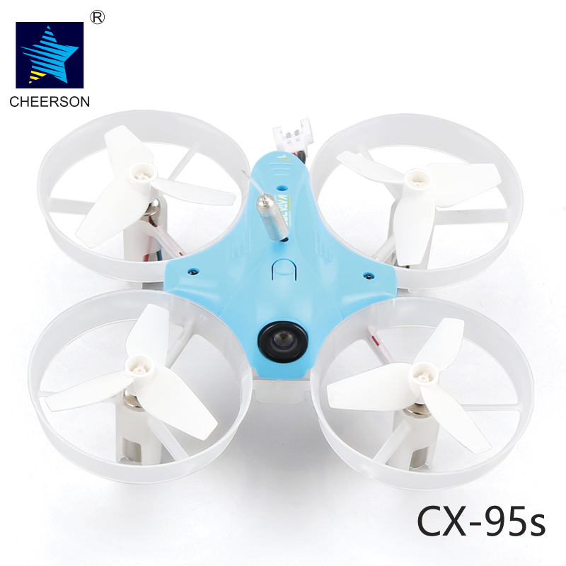 Cheerson TINY CX-95S CX95S DIY Mini Through The Machine 80mm FPV Racing Quadcopter BNF Based On F3 Flight Controller cheerson cx 10wd mini wifi fpv rc quadcopter bnf gold