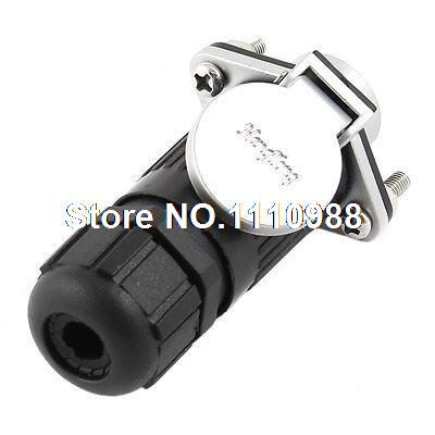 AC 250V 30A 3 Pin Rubber Metal Aviation Connector Coupler Plug Adapter ac 250v 15a 25mm dustproof metal male female aviation plug connector joint free shipping