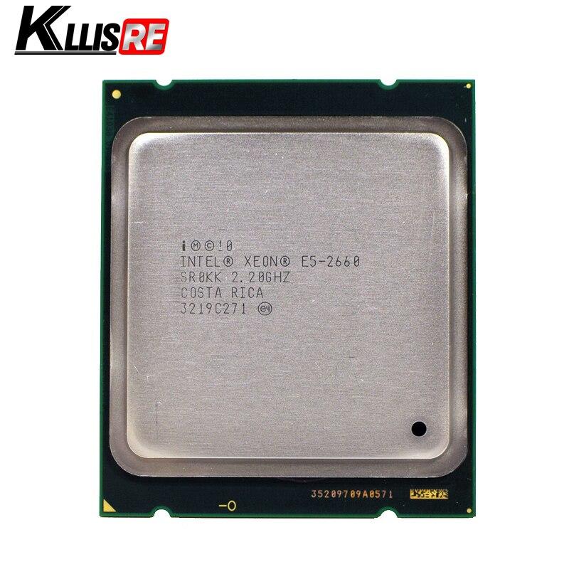 INTEL XEON E5 2660 SR0KK CPU 8 CORE 2 20GHz 20M 8GT s 95W PROCESSOR E5