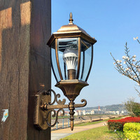 European outdoor Wand Lampen outdoor terrasse lampe große außenwand lampe wasserdicht LED wand lampe villa zaun LU627103 ZL393|led wall lamp|exterior wallwall lamp -