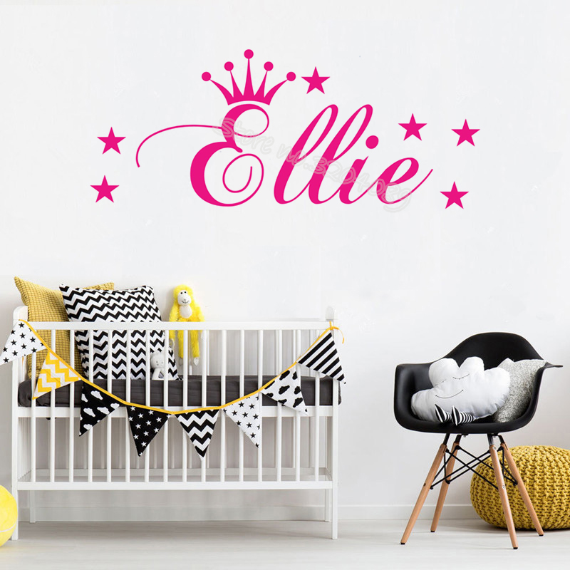 Once Upon a Time Princess Harriet Wall Sticker Decal Bed Room Art Girl//Baby