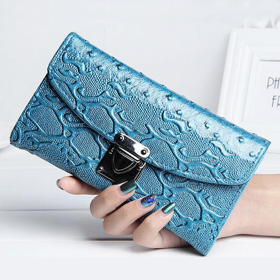 Women Wallets Candy Colors PU Leather Lady Purses Handbags Woman Clutch Moneybags Coin Purse Cards Holder Long Wallet Bags Burse
