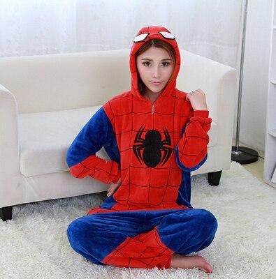 af8320b329 Adulto Anime Onesie Cosplay traje de pijama de los hombres y las mujeres  ropa de dormir de hombre de hierro