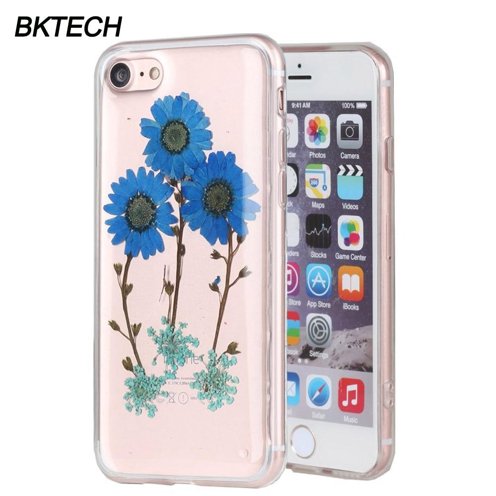 Za iPhone 7 Plus modno osušeno cvijeće futrola za telefon 6G 6G - Oprema i rezervni dijelovi za mobitele - Foto 2