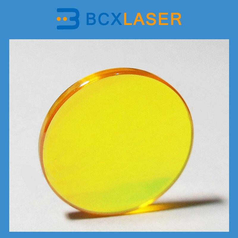 ZnSe CO2 Focus Lens usa znse co2 laser focus lens dia 25 4mm fl38 1mm for cnc cutting machine