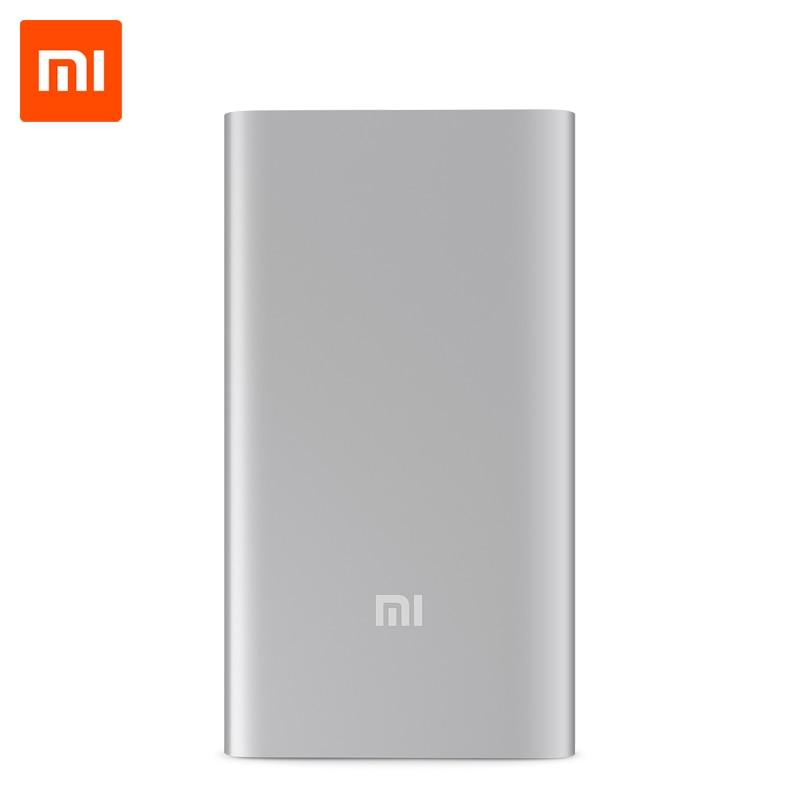 imágenes para Xiaomi Banco de la Energía 5000 mAh Ultra Delgado Cargador Portátil Powerbank 5000 para iPhone Xiaomi Huawei LG Samsung Teléfonos Móviles