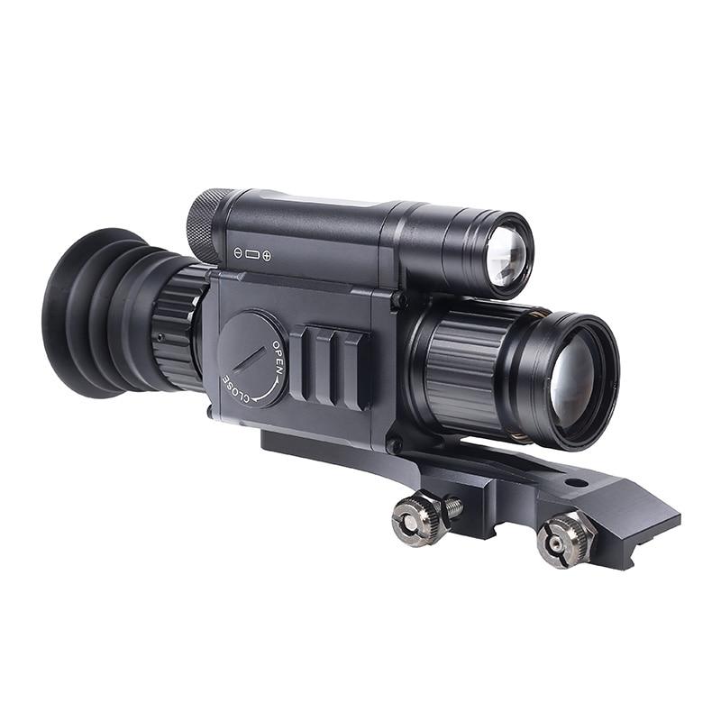 NV008 Digital Infrared Night Vision Rifle Scope 200M Range Hunting Night Vision Sights Optics Wifi APP With Picatiny Mounts