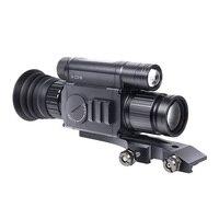PARD NV008 цифровой инфракрасный ночное видение прицел 200 м Диапазон Охота ночное видение прицелы оптика Wi Fi приложение с Picatiny крепления