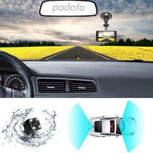 Image 3 - Podofo Novatek 96658 4.0 Inch IPS Screen Dual Lens Car DVR Camera Full HD 1080P Vehicle Video Recorder Dash Cam