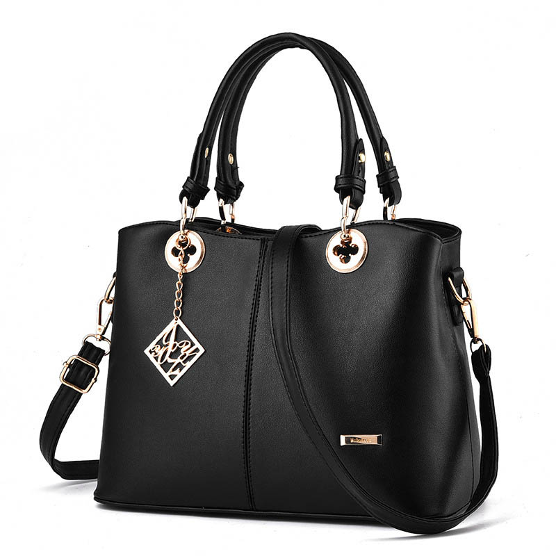 Bags Handbags Women pu Leather Handbag casual solid color Shoulder Bag Female high quality fashion brand designer bolsa feminina