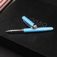 OASO S112 High End Smooth Metal Roller ball Pen for Business Men and Women Owned 4 Colors Option Luxury Ballpoint Pens