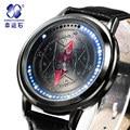 Xingyunshi Anime LED Pantalla Táctil Impresionante Impermeable Hombres Reloj Luminoso Digital Relojes Reloj Reloj de Los Hombres del Relogio masculino