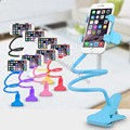 Universal Lazy Phone Holder Mobile Cell Smartphone Desk Accessory Mount Stand Office Table Tablet 360 Rotating Long Arm Bracket