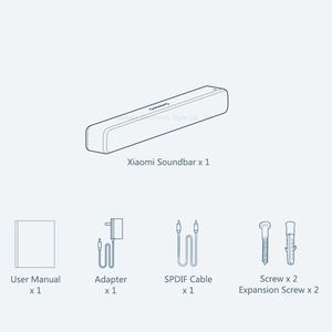 Image 4 - Originele Xiaomi Bluetooth Tv Geluid Bar Draadloze Speaker Soundbar Ondersteuning Optische Spdif Aux In Voor Thuisbioscoop