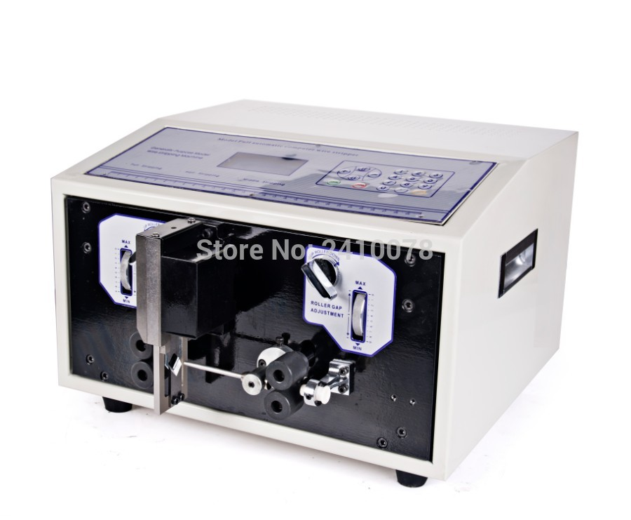 110V 220V Automatic Wire Stripping Machine LCD Display Wire Stripper for PVC Teflon Glass Wire Fast
