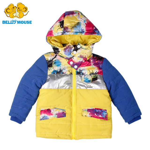 c9b5033341ba8 Bello Mouse Winter Jackets for Boys and Girls Keep Warm Children s Kids  down coat Fashion Teenagers Clothes Fall Coats Outerwear