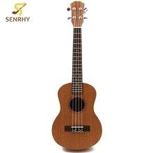 Professional 26 Inch Ukulele Uke Hawaii Acoustic Guitar Sapele 18 Fret Wood Ukulele Musical Instruments For Great Gift
