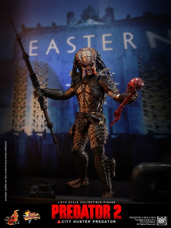 Hottoys1/6th scale doll model 12 Action figure doll,City Hunter Predator .Collectible Figure model toy hottoys 1 6 scale stallone doll barney ross collectible figure specification soldier finished product video figure model