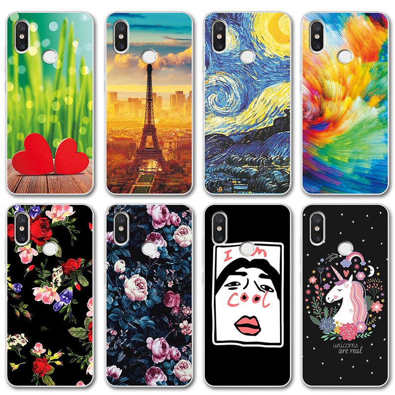 Smart Case For Xiaomi Redmi Note 7 Novelty Silicone Phone Case Cover For Redmi Note 7 Pro Cute 6 Covers Coque Note 5 Global Version Last Style Fitted Cases Cellphones & Telecommunications