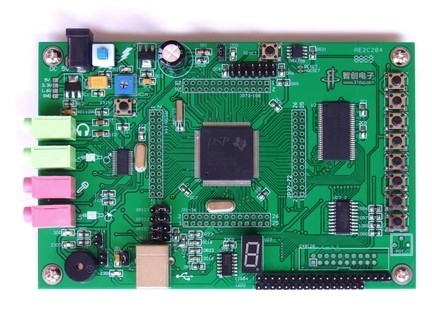 free shipping  DSP development board DSP5509 development board TMS320VC5509A development board