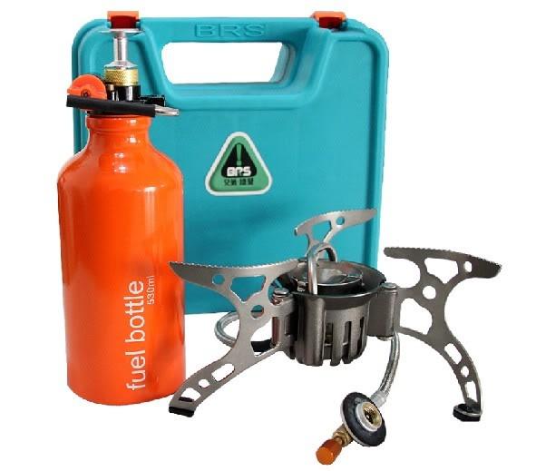 Livraison gratuite huile/gaz multi-usage cuisinière cuisinière Camping poêle BRS-8A