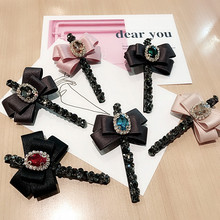 Korea Hair Accessories Flower Bear butterfly Clips For Girls Crystal Accessoires Bows Hairpins Barrette 4