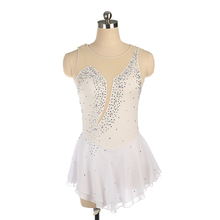 Nasinaya Figure Skating Dress Customized Competition Ice Skating Skirt for Girl Women Kids Gymnastics Performance Rhinestones customized costume ice skating dress figure skating dress gymnastics competition adult child girl skirt performance training