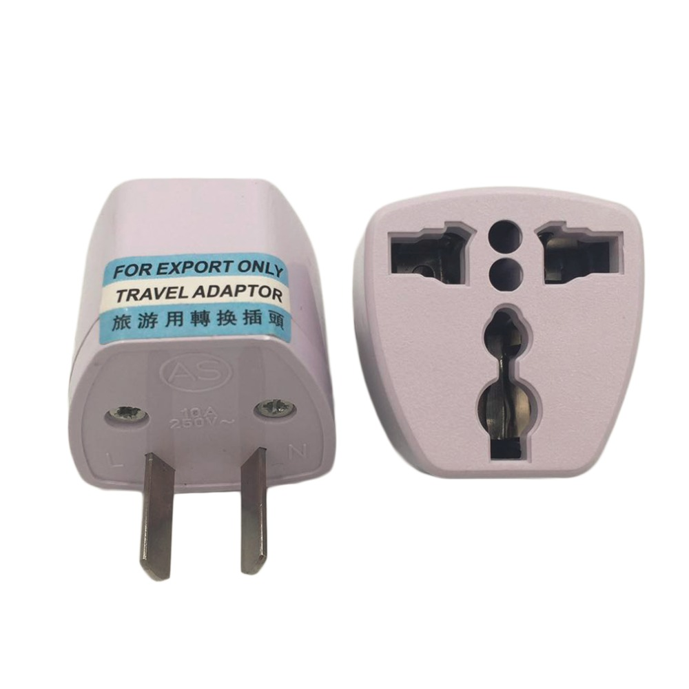 1pc Universal Travel Adapter US AU EU to UK Plug Travel Wall AC Power Adapter 250V 10A Socket Converter