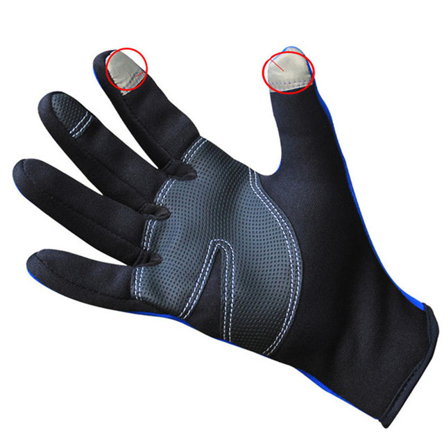 Winter Thermal Sports Gloves Windproof Full Finger for Men & Women