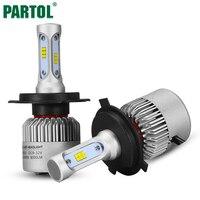 S3 Partol 72 Watt H4 H7 H11 H8 9006 9005 H13 LED Auto Scheinwerfer lampen CSP Chips All in one Led-scheinwerfer Auto Nebelscheinwerfer 12 V