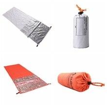 Водонепроницаемый дышащий открытый взрослый Тип влагостойкие коврики путешествия Fleabag Портативный Кемпинг Туризм теплый спальный мешок-конверт