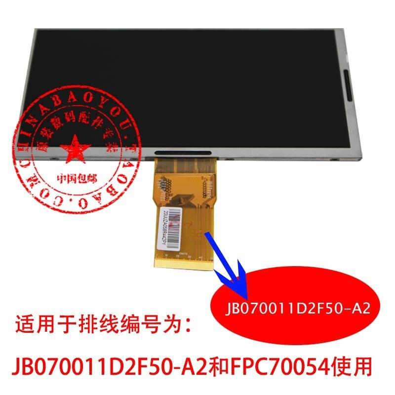 7 -inch cable ID : FPC70054 / JB070011D2F50-A2 Universal Display LCD internal display models