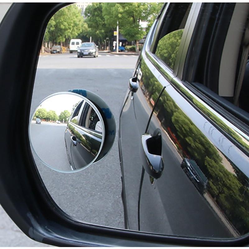 Car 360 Wide Angle Circular Convex Mirror Door Side Small
