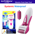 5Sets Red waterproof pedicure electric tools Foot Care Exfoliating Foot Care Tool and roller pedicure heads scholls KIMISKY